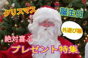 子どもが喜ぶこと間違いなし!外遊び用プレゼント5選!!幼児~小学生編